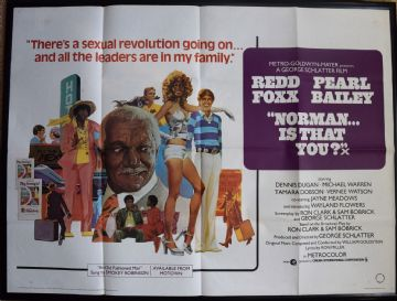 Norman is that You? (1976) - Redd Foxx | UK Quad Film Poster